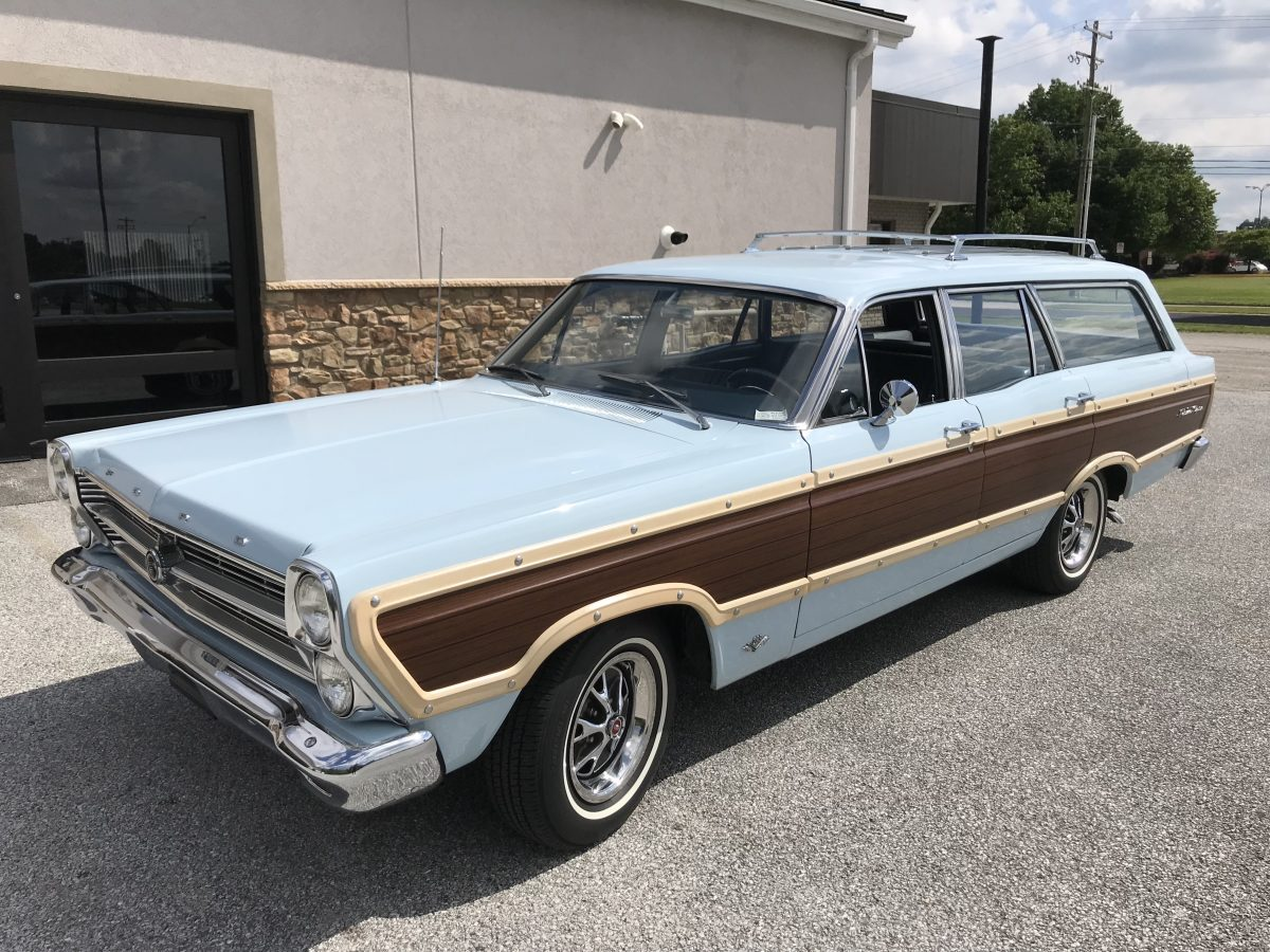 1966 ford fairlane squire wagon performance motors of hanover
